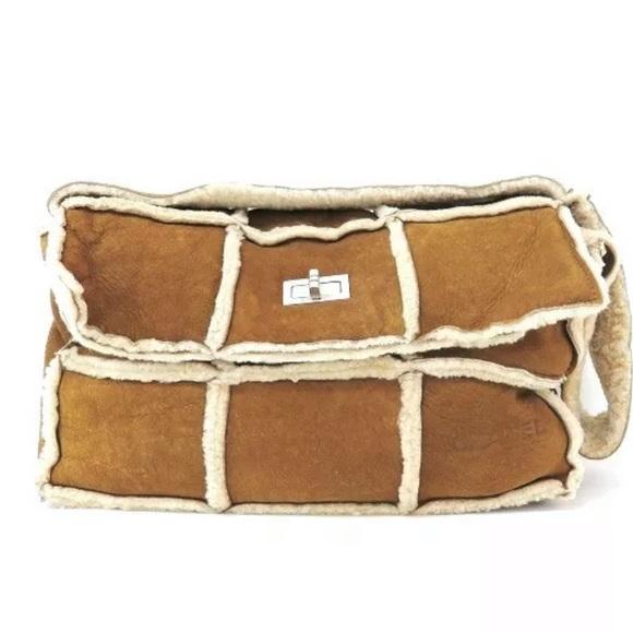 4595f2761398db CHANEL Bags | Shearling Flap Bag | Poshmark